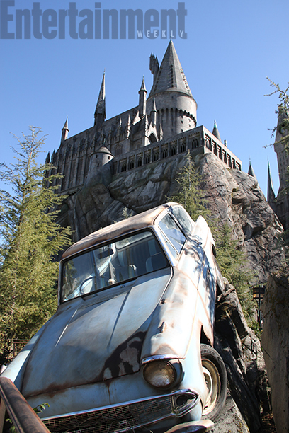 Mr. Weasley's Enchanted Car