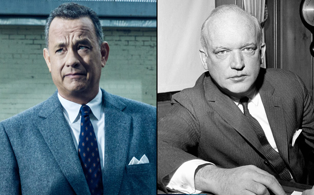 Tom Hanks as Lawyer James B. Donovan in Bridge of Spies