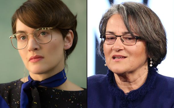 Kate Winslet as Apple Marketing Exec Joanna Hoffman in Steve Jobs