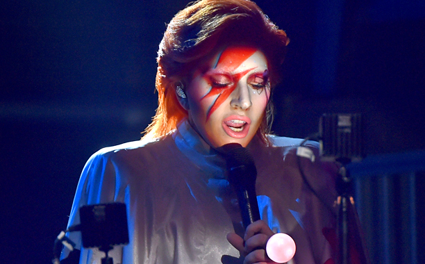 Paying Tribute to David Bowie at the 58th Annual Grammy Awards