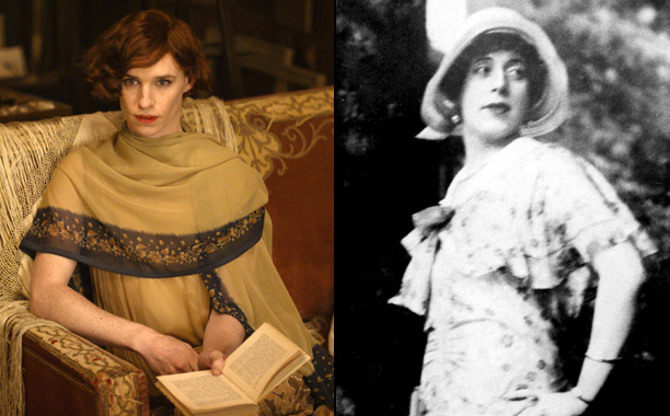Eddie Redmayne as Danish Painter Lili Elbe in The Danish Girl