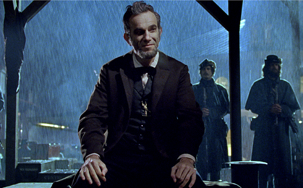 8. Daniel Day-Lewis as Abraham Lincoln