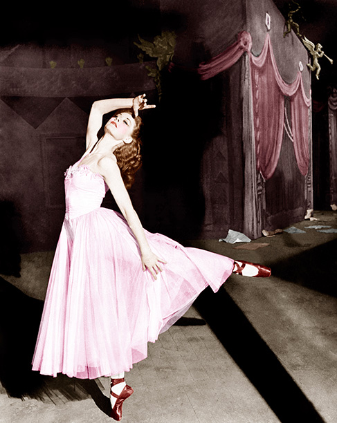 Vicky in The Red Shoes