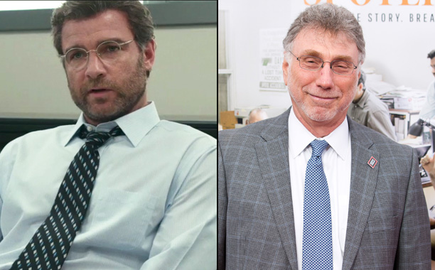 Liev Schreiber as Then-Boston Globe EIC Marty Baron in Spotlight