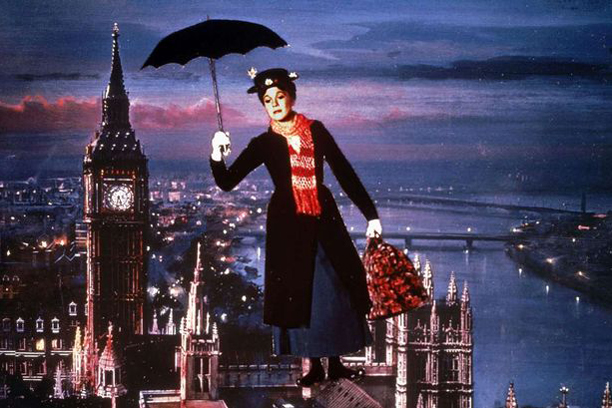 22. Julie Andrews as Mary Poppins