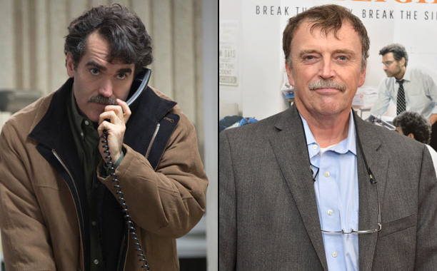 Brian d'Arcy James as Boston Globe Reporter Matt Carroll in Spotlight