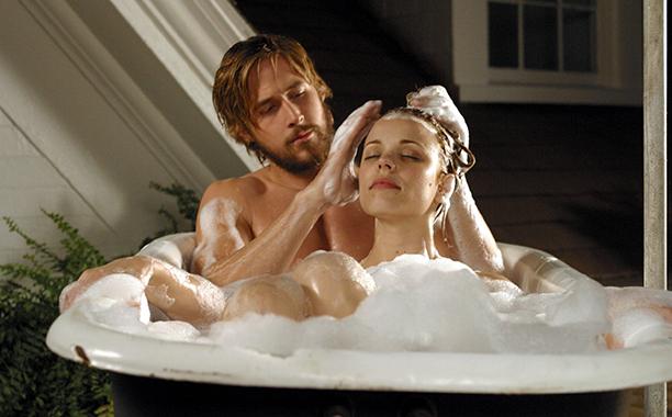 Noah Calhoun (Ryan Gosling) in The Notebook