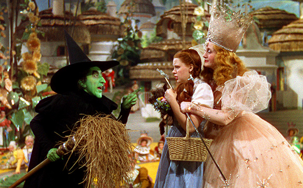 Glinda the Good Witch in The Wizard of Oz