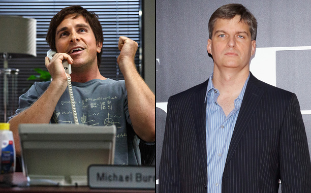 Christian Bale as Hedge Fund Manager Dr. Michael Burry in 'The Big Short'