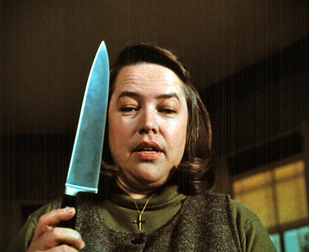 18. Kathy Bates as Annie Wilkes