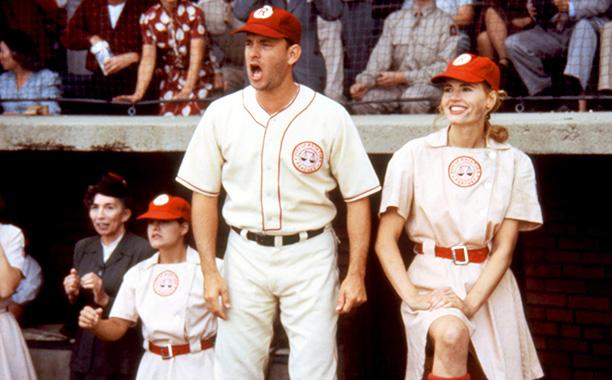 The Rockford Peaches in A League of Their Own