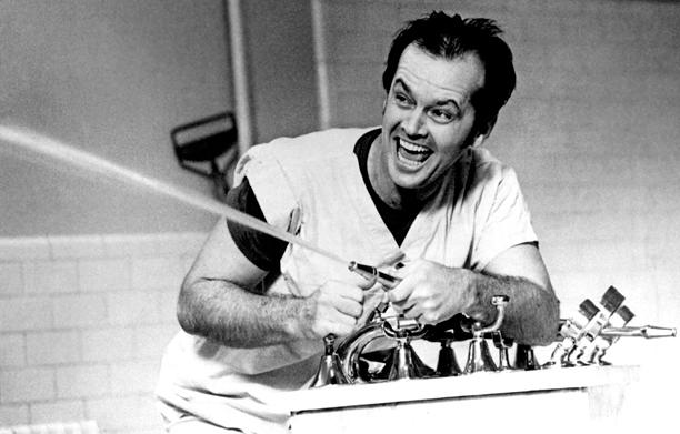 6. Jack Nicholson as R.P. McMurphy