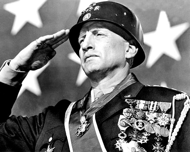 4. George C. Scott as Gen. George Patton