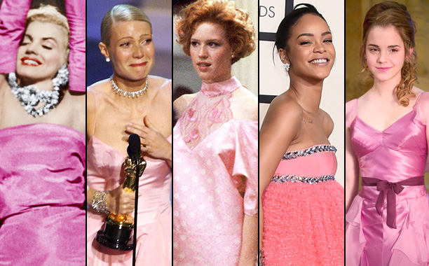 Pop Culture's 19 Most Famous Pink Dress