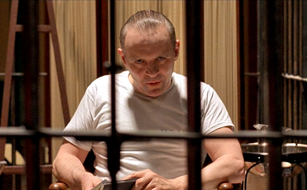 14. Anthony Hopkins as Hannibal Lecter