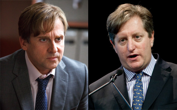 Steve Carell as Money Manager Steve Eisman in The Big Short