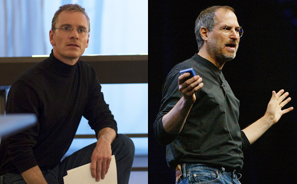 Michael Fassbender as Steve Jobs in Steve Jobs