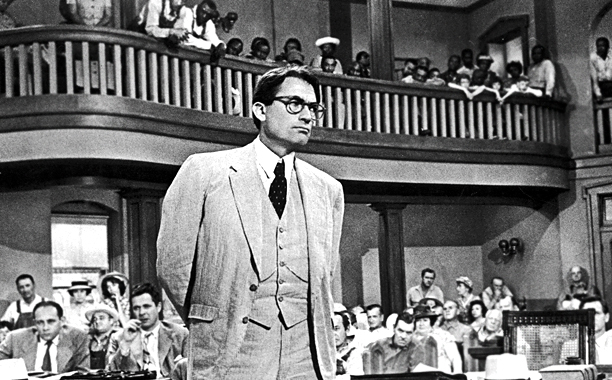 11. Gregory Peck as Atticus Finch