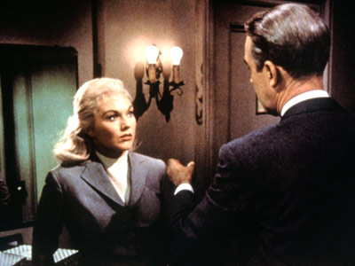 Vertigo, Jimmy Stewart, ... | Sure, she may lack a Streep-like body of work, but her unvarnished turn as two very different characters in Hitchcock's classic Vertigo (1958) was essential…