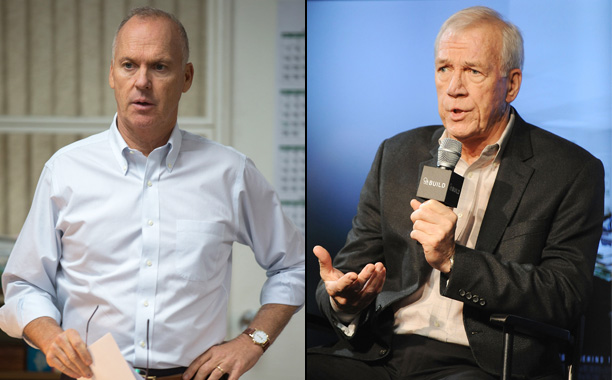 "Michael Keaton as Boston Globe Editor Walter ""Robby"" Robinson in Spotlight"