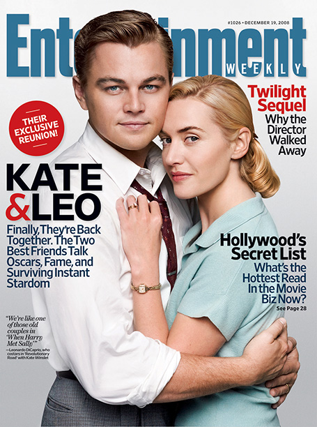 On the Cover of Entertainment Weekly's December 19, 2008 Issue