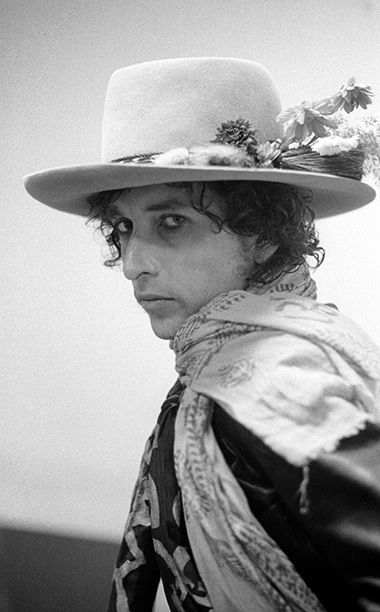 Bob Dylan in New Haven, Connecticut in 1975
