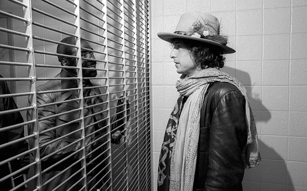 Bob Dylan at Madison Square Garden on December 8, 1975