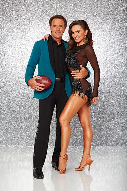 Doug Flutie and Karina Smirnoff