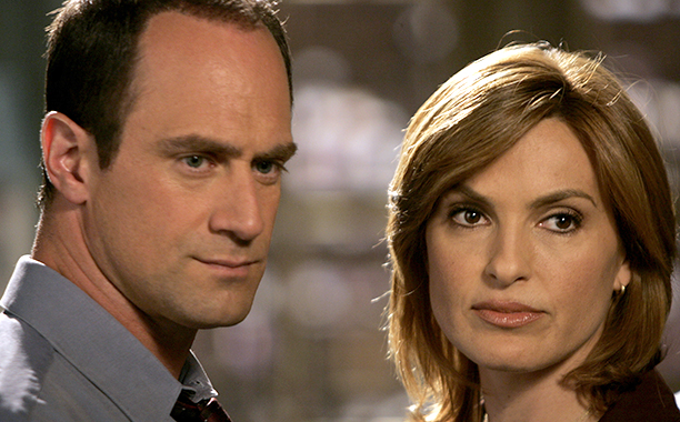 Stabler and Benson, 'Law & Order: Special Victims Unit' … NEVER