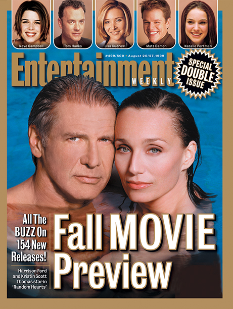 1999: Harrison Ford and Kristin Scott Thomas star in Random Hearts