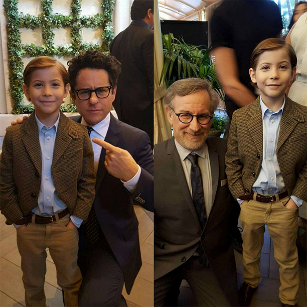Meeting J.J. Abrams and Steven Spielberg at the AFI Awards