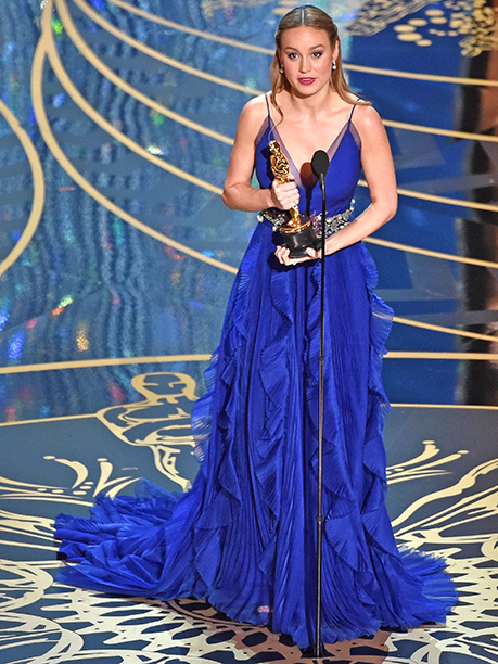 3. Best Actress: Brie Larson – Room