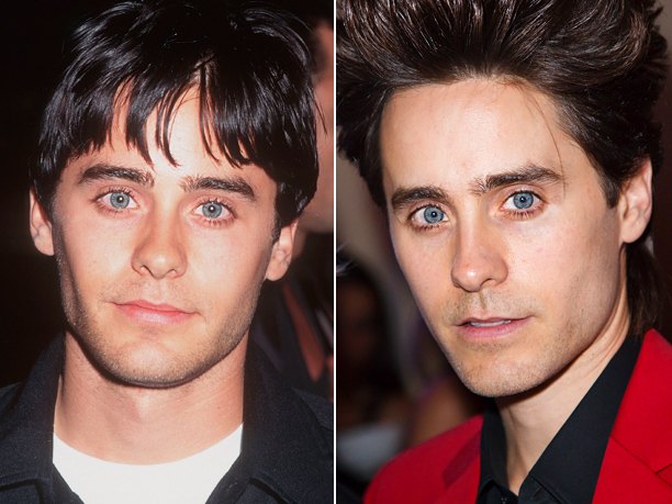 Age in first photo: 23? Age in second photo: 39? Verdict: And this is why we've still got a crush on Jordan Catalano.