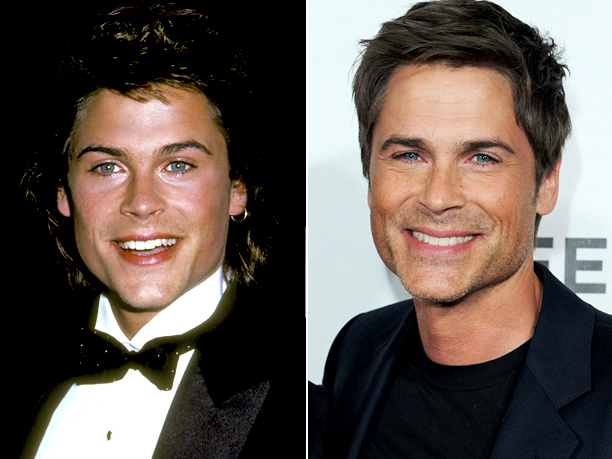Age in first photo: 20 Age in second photo: 48 Verdict: He literally stopped getting older after St. Elmo's Fire .
