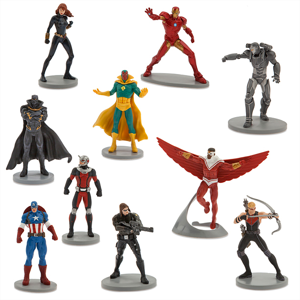 Captain America: Civil War Figure Play Set (Disney, $19.95)