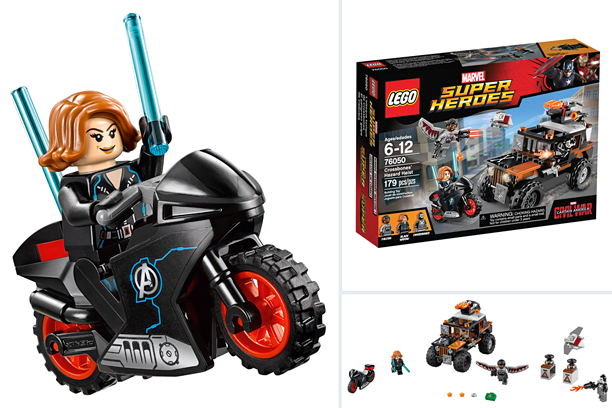 Marvel's LEGO Super Heroes Crossbones' Hazard Heist (LEGO, $19.99)