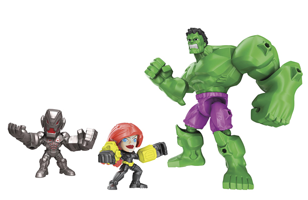 Marvel Super Hero Mashers Mash-Up Pack Assortment (Hasbro, $19.99)