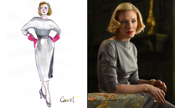 Sandy Powell for Carol