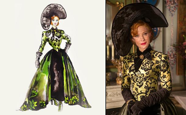 Sandy Powell for Cinderella