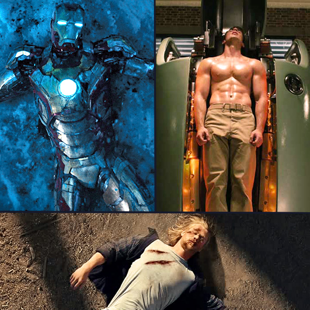 Iron Man | Again, it all starts with Iron Man . Tony Stark is a high-flying, cocktail-swilling egomaniac. He gets blown up, goes into a captive pit of…