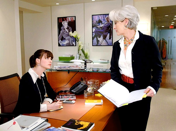 Source: The Devil Wears Prada (2003) Two words: Meryl Streep. No disrespect to Anne Hathaway, who was fetching as the harried and all-too-easily made-over fashion…