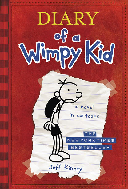 Author: Jeff Kinney Best for ages 6 to 8 As Diary of a Wimpy Kid 's Greg Heffley will tell you, there are few things…