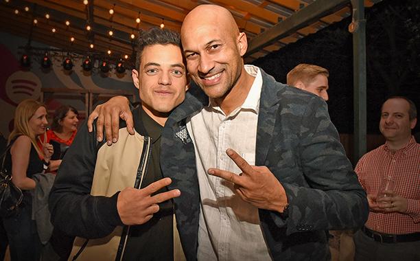 Rami Malek and Keegan Michael-Key