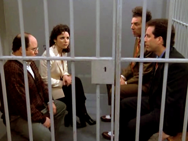 Seinfeld | Aired: May 14, 1998 (series finale) The many millions of viewers who had followed Seinfeld through nine heartless, hyper-verbal seasons expected some closure at the…