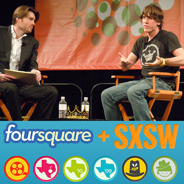 South by Southwest Music and Media Conference | FourSquare launched ahead of SXSW in 2009 and ultimately attained the wholly unofficial title of most buzzed about app at SXSW. If you wanted to…