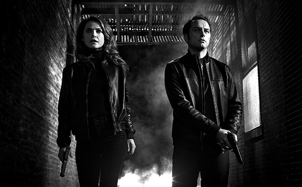 Keri Russell and Matthew Rhys as Elizabeth and Philip Jennings, 'The Americans'