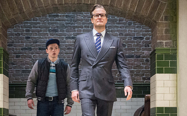 Colin Firth as Galahad, Kingsman: The Secret Service