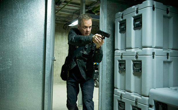 Kiefer Sutherland as Jack Bauer, 24
