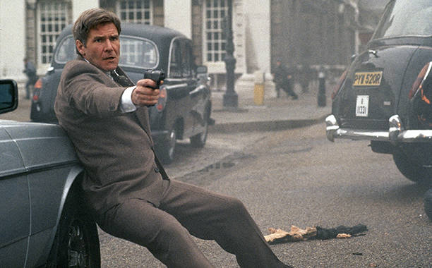 Harrison Ford as Jack Ryan, Patriot Games