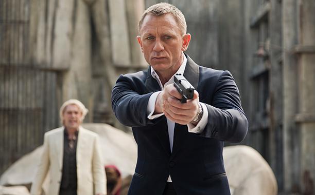 Daniel Craig as James Bond, Skyfall